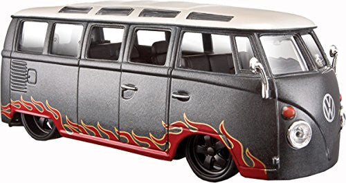 1:24 Volkswagen Samba Van Maisto Design Detailed & Customised Model Car Kids Toy
