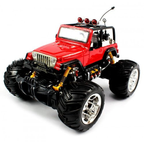 Big Size Quality Electric Full Function Electric Full Function 1:16 Jeep Wrangler Convertible Monste