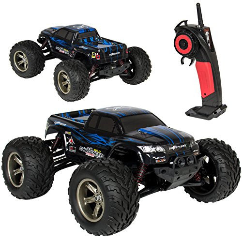 Best Choice Products 1/12 Scale 2.4 Ghz Remote Control Truck Electric Rc Car High Speed Monster Off