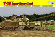 United States Army T 28 Super Heavy Tank (Plastic Model)