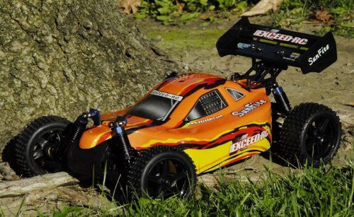 1/10 Scale Off Road Electric Buggy Exceed Rc Sun Fire Ep 4 Wd (Colors Vary Sent At Random)