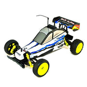 Aleko Buggy 27 M Hz Ni Cd Remote Control Car Battery (1/10 Scale), White