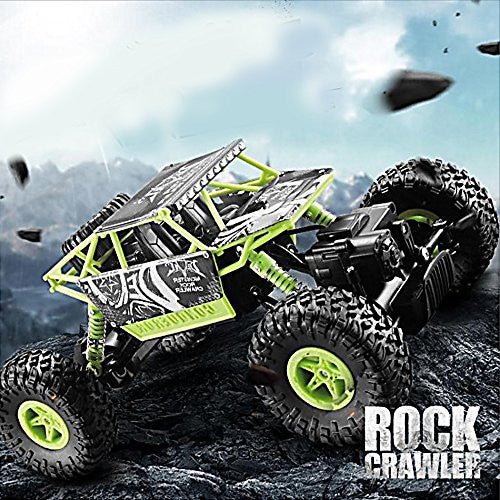 1/14th Scale Electric Hot Rc Vehicle Toy 4 Wd 4 X4 Powerful Electric Remote Control Rock Crawler Rtr