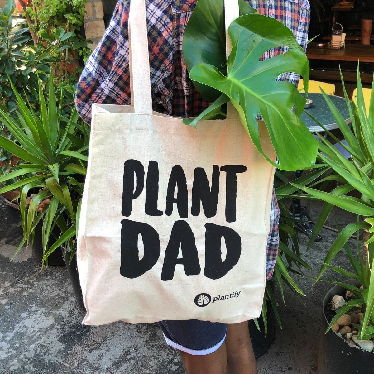 Plant Dad - Hemp Tote Bag