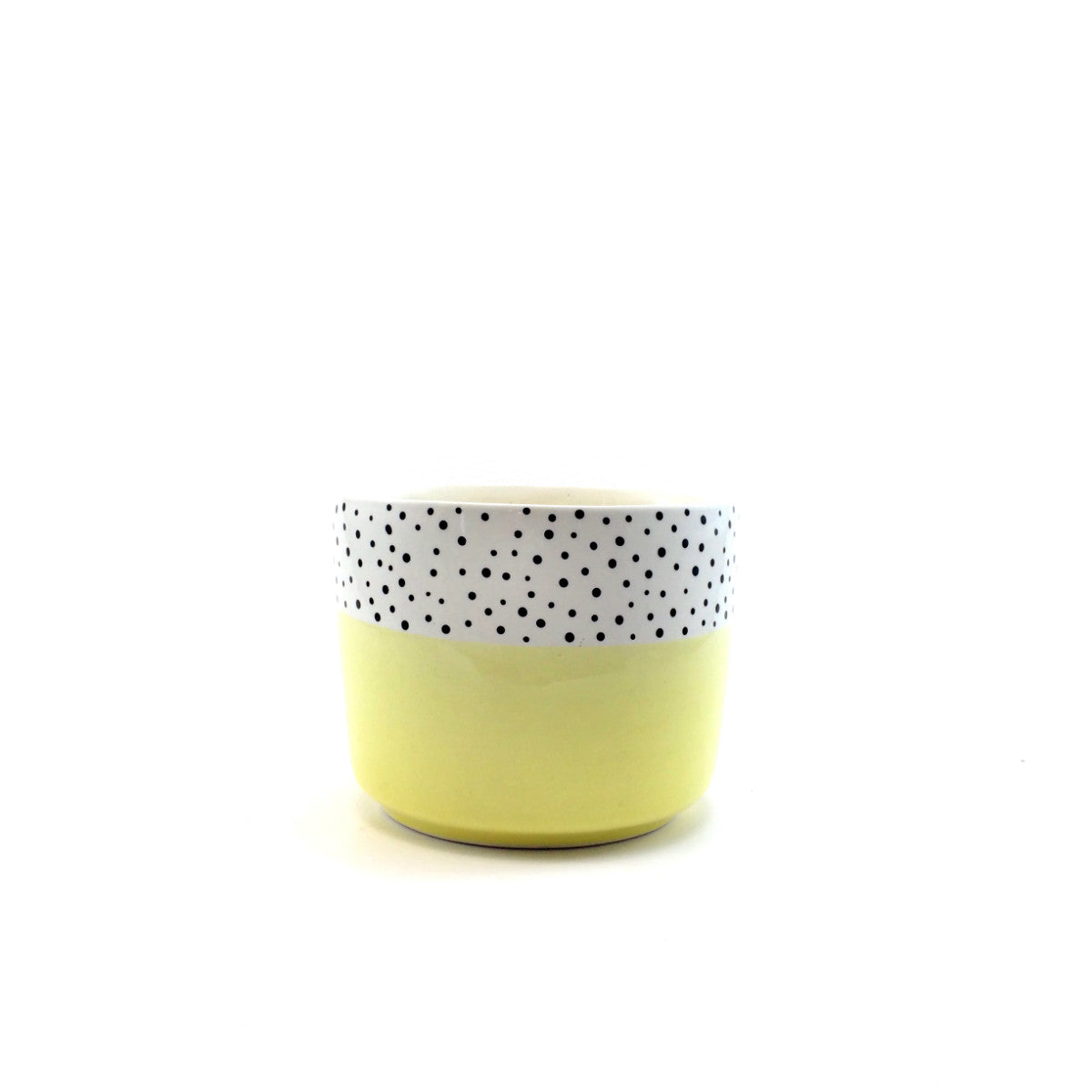 Polka Dot Pot - Yellow