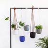 Emerson Leather Matte Hanging Pot