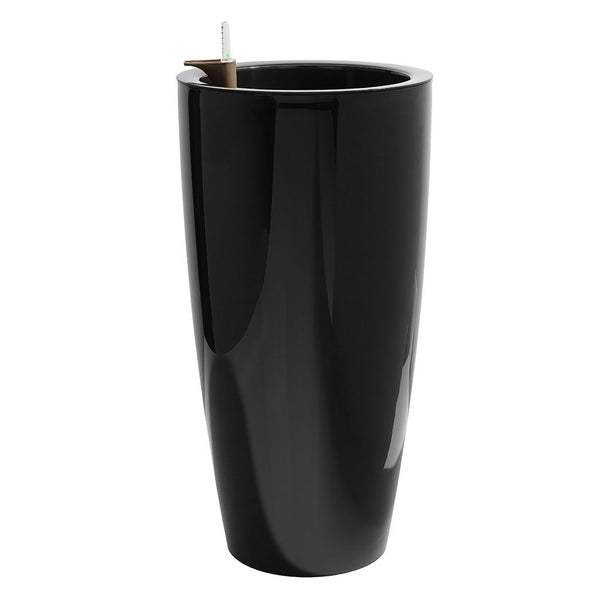 Office Plant Pot - Santorini Black