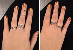 Twisted Wire Customer Testimonial - Sun Moon Ring Set 1