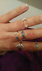 Twisted Wire Customer Testimonial - Sun Moon Ring Set 2
