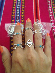 Twisted Wire Customer Testimonial - Sun Moon Ring Set 3