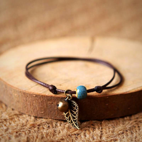 buy Free-Spirit Bohemian Anklet Twisted Wire