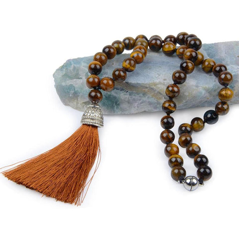Tibetan Tassel Necklace
