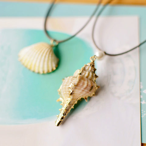 Twisted Wire - Sealife Pendant Necklaces 10