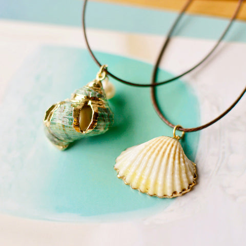 buy Sealife Pendant Necklaces Twisted Wire