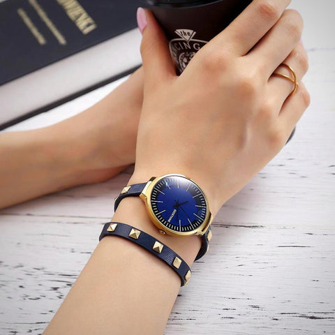Retro Bracelet Watch - Twisted Wire