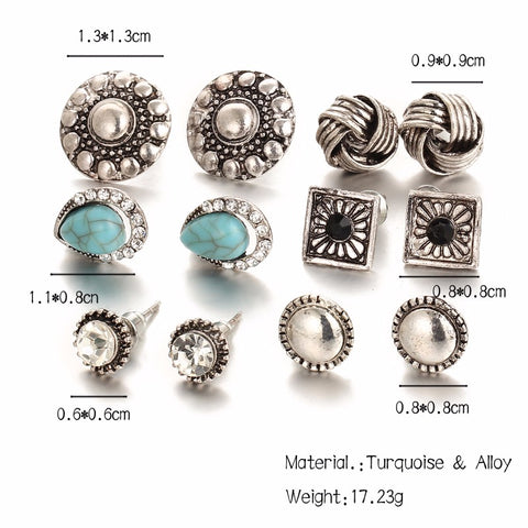 Twisted Wire - Fashion Stud Earrings 2