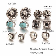 buy Fashion Stud Earrings Twisted Wire