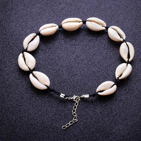 Twisted Wire - Seashell Choker Necklace 5