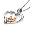 buy I Carry Your Heart Pendant Twisted Wire