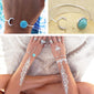 buy Sun & Moon Bracelet Twisted Wire