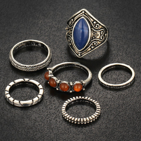 buy Vintage Tibetan Rings Twisted Wire