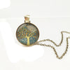buy Tree of Life Pendant Necklace Twisted Wire