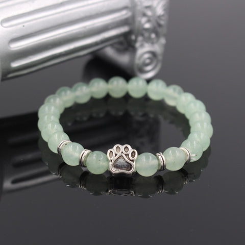 buy Natural Stone Pitbull Bracelet Twisted Wire