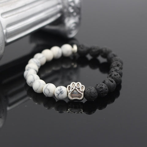 Twisted Wire - Natural Stone Pitbull Bracelet 2