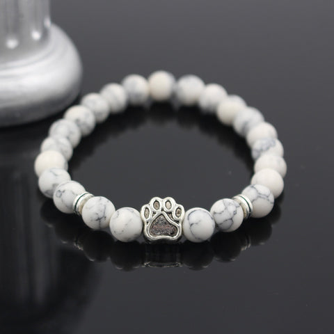 Twisted Wire - Natural Stone Pitbull Bracelet 8