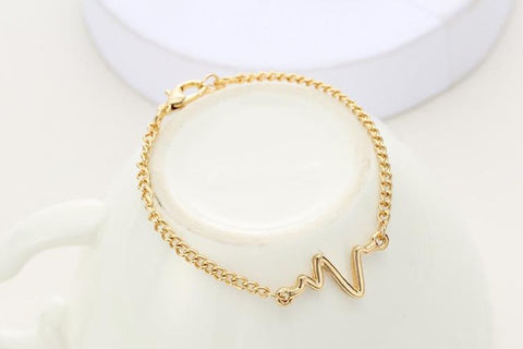 buy Heart-Beat Bracelet Twisted Wire