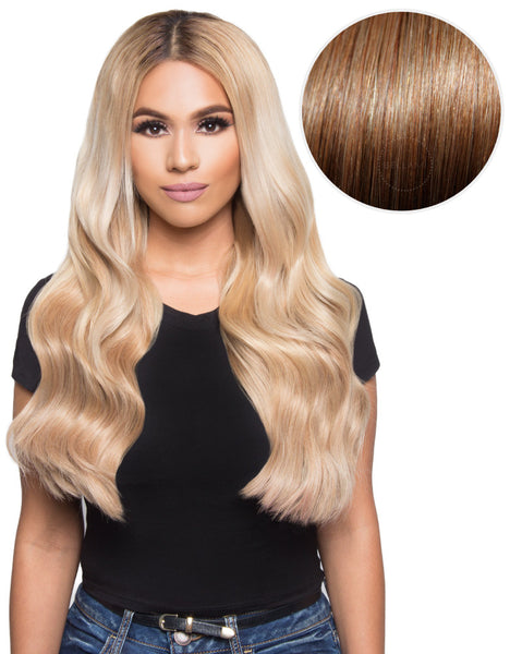 "100% Remy hair Extension 280g 20"" Dirty Blonde (18) by Khaleesi - ArabianGlitz"
