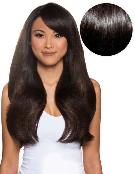 "100% Remy Hair Extensions 280g 20"" Mochachino Brown (1C) by Khaleesi - ArabianGlitz"
