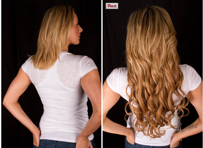 100 Remy Hair Extension Kit 260g 20 Dirty Blonde 18 By Lilly Ghali