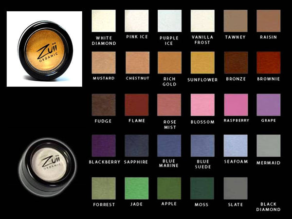 100% Certified Organic Flora Eye shadow 'Sunflower' by Zuii Certified Organics Australia - ArabianGlitz