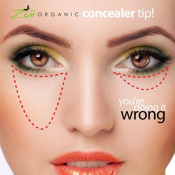 100% Certified Organic Concealer Pencil 'Fair' by Zuii Organics Australia - ArabianGlitz