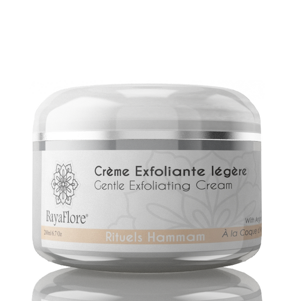 Organic Moroccan Exfoliating Cream with pure Argan grains for Face & Body - ArabianGlitz