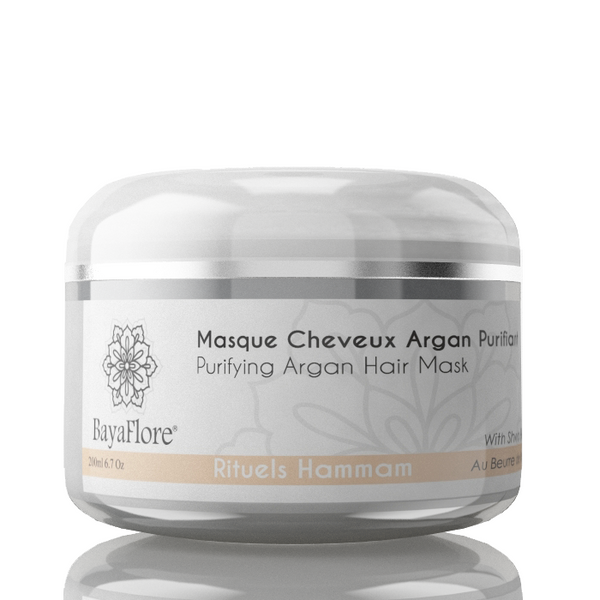 Organic Moroccan Purifying pure Argan Hair Mask (Best Seller) - ArabianGlitz
