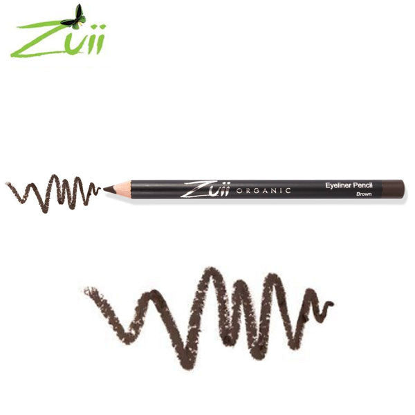 100% Certified Organic Eyeliner Pencil 'Brown' by Zuii Certified Organics Australia - ArabianGlitz