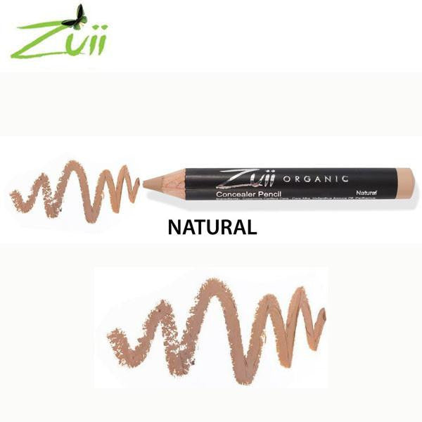 100% Certified Organic Concealer Pencil 'Natural' by Zuii Certified Organics Australia - ArabianGlitz