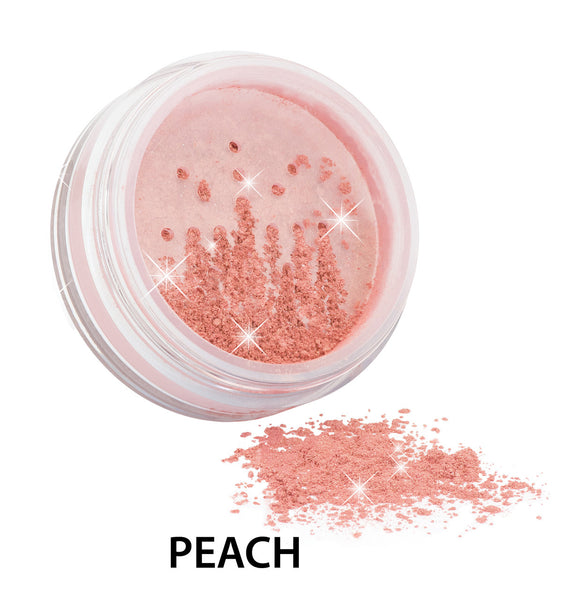 100% Certified Organic Flora Diamond Sparkle Blush 'Peach' by Zuii Certified Organics Australia - ArabianGlitz