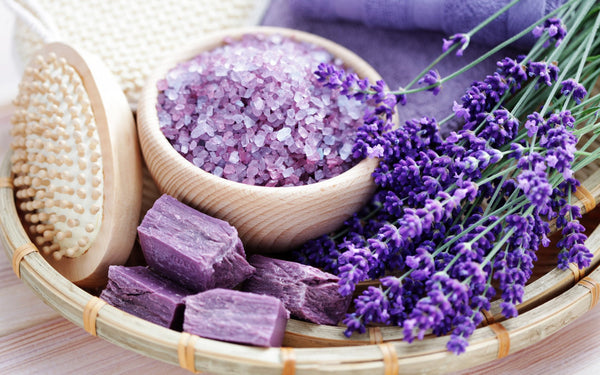 All Natural hand-made Soap bar 'Lavander'. - ArabianGlitz
