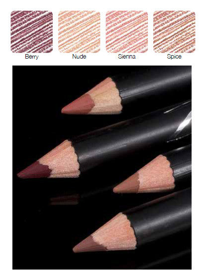 100% Certified Organic Lip Liner Pencil 'Berry' by Zuii Organics Australia - ArabianGlitz