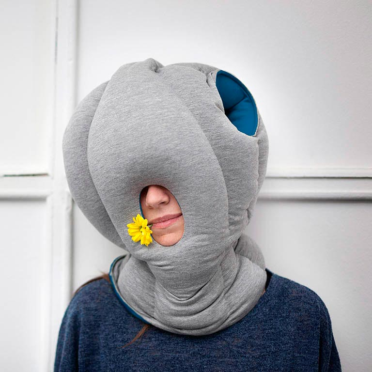 Snooze at ease anywhere with OSTRICHPILLOW®