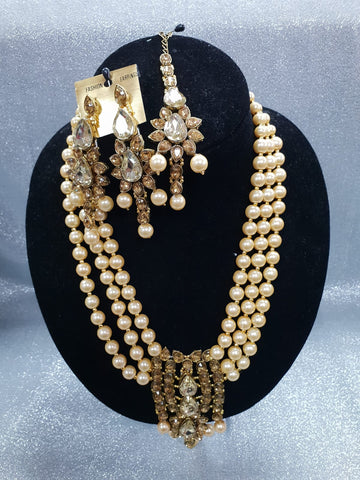 Diamond and Pearl Set