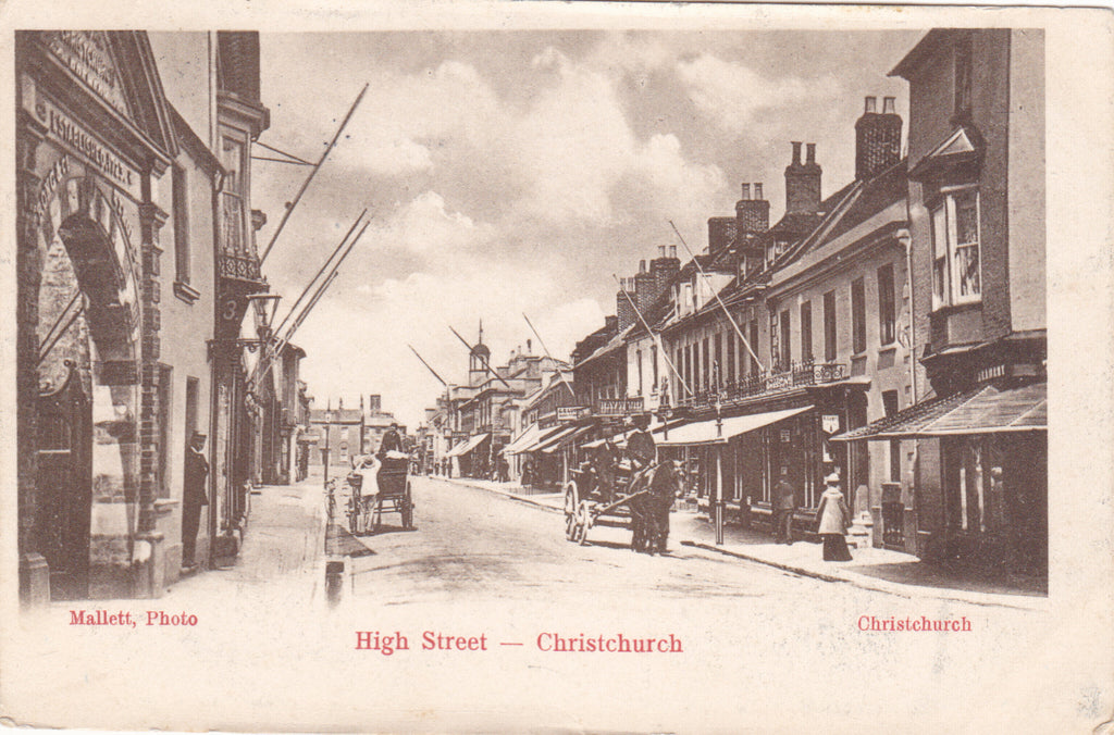A nation of high streets - celebrated in vintage postcards