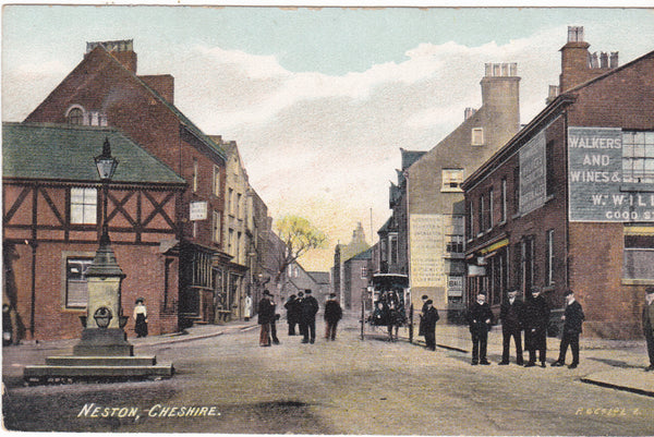 Collectables:Postcards:Topographical: British:England:Cheshire