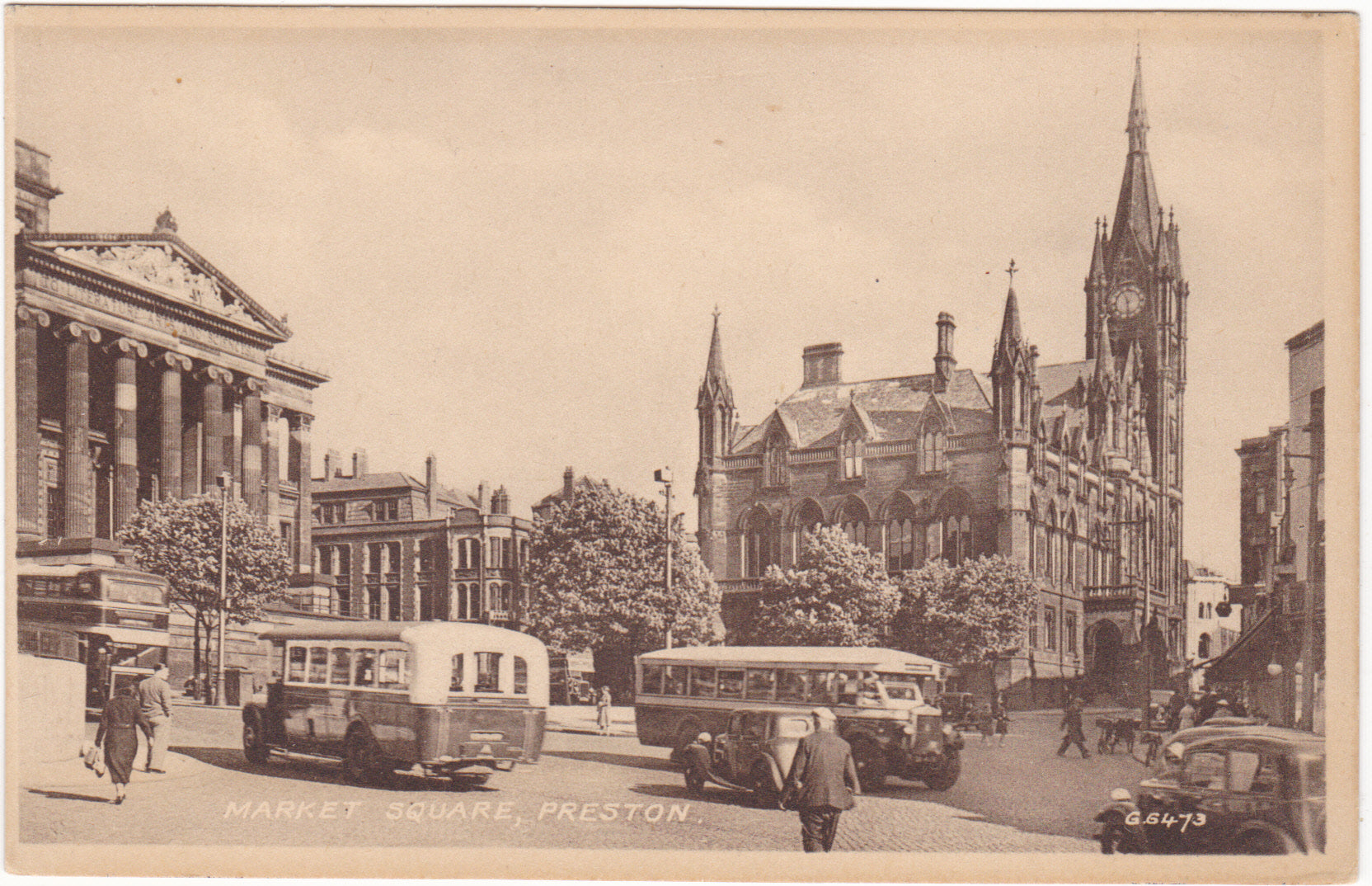 Market Square, Preston