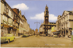Colchester High Street, old postcard