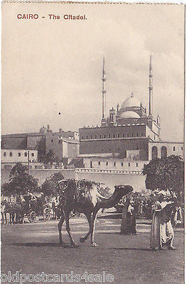 CAIRO, THE CITADEL - OLD  POSTCARD (OUR REF 2661)