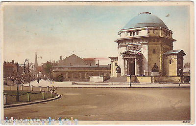 HALL OF MEMORY, BIRMINGHAM - 1943 POSTCARD (ref 6868/14)